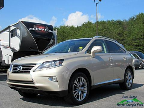 2013 Lexus RX 350 for sale in Blue Ridge, GA