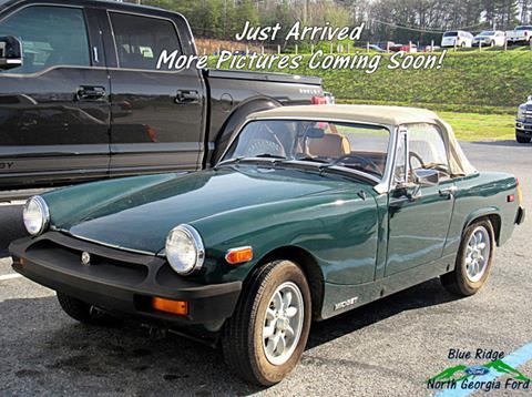1979 MG Midget for sale in Blue Ridge, GA