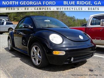 2004 Volkswagen New Beetle for sale in Blue Ridge, GA