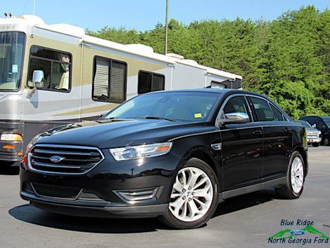 2017 Ford Taurus for sale in Blue Ridge, GA