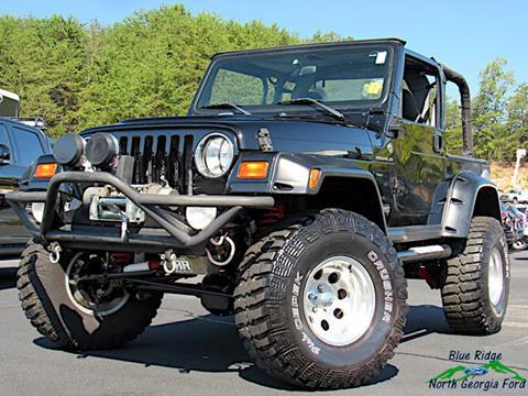 1998 Jeep Wrangler for sale in Blue Ridge, GA