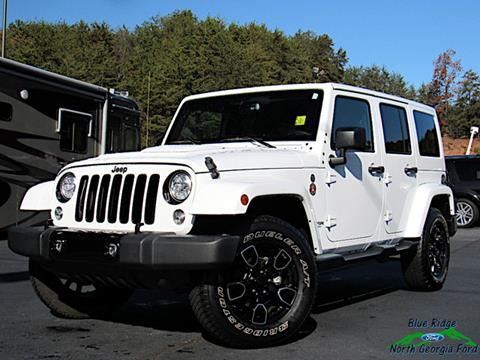 2018 Jeep Wrangler JK Unlimited for sale in Blue Ridge, GA