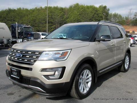 2017 Ford Explorer for sale in Blue Ridge, GA