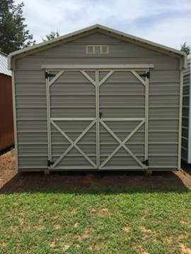 2016 OUTBACK BARN DELUXE METAL SHED for sale in Greenwood, AR