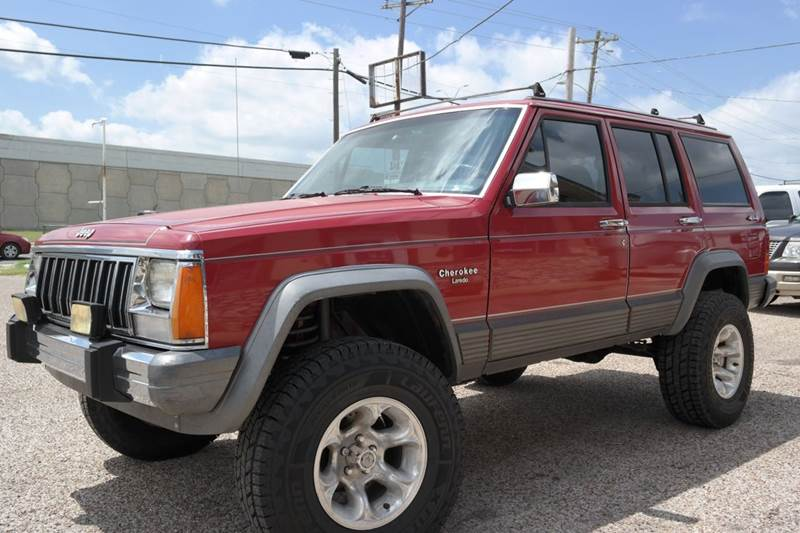1988 jeep cherokee laredo 4dr 4wd suv i6 lifted 5 speed manual low rh sanmarcostradingpost com 88 jeep cherokee manual transmission 1988 Jeep Cherokee