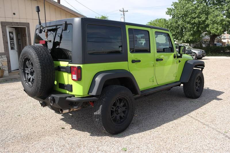 2012 Jeep Wrangler Unlimited 4x4 Sport 4dr SUV In San Marcos TX ...