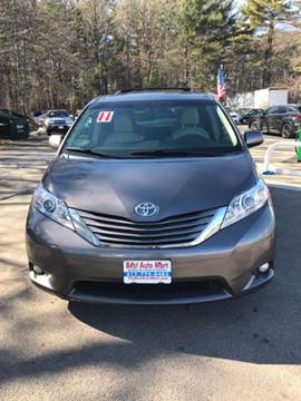 2011 Toyota Sienna for sale at Best Auto Mart in Weymouth MA