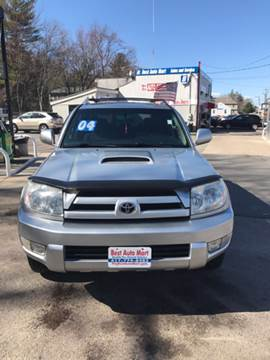 2004 Toyota 4Runner for sale at Best Auto Mart in Weymouth MA