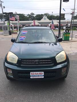 2002 Toyota RAV4 for sale at Best Auto Mart in Weymouth MA