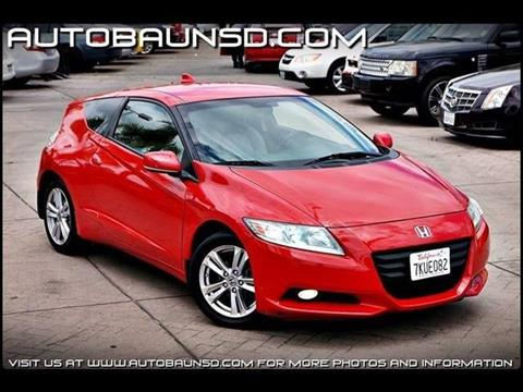 2011 Honda CR-Z for sale in San Diego, CA