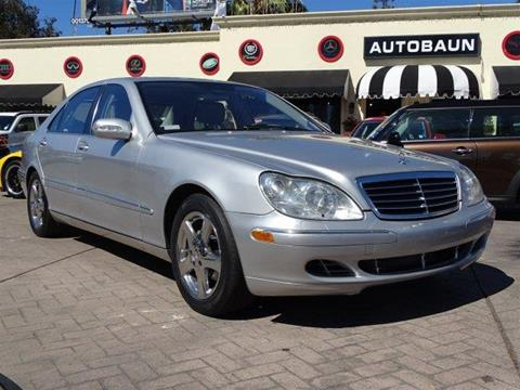 2004 Mercedes-Benz S-Class for sale in San Diego, CA