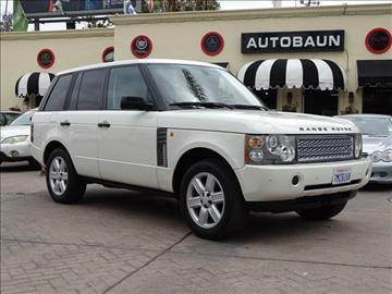 2004 Land Rover Range Rover for sale in San Diego, CA