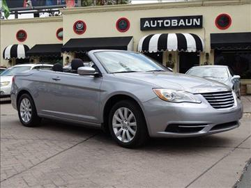 2013 Chrysler 200 Convertible for sale in San Diego, CA