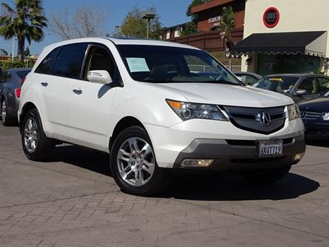Acura MDX For Sale In San Diego CA Carsforsalecom - Acura mdx 2007 for sale