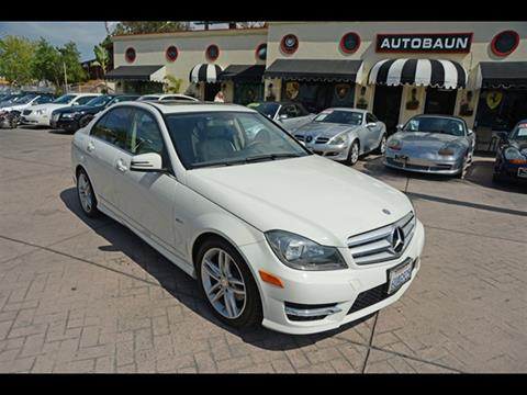 2012 Mercedes Benz C Class For Sale In San Diego, CA