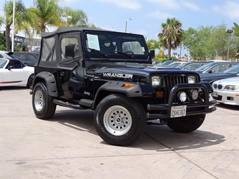1991 Jeep Wrangler for sale in San Diego, CA