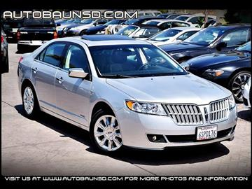 2011 Lincoln MKZ Hybrid for sale in San Diego, CA