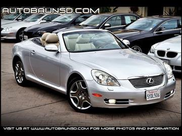2006 Lexus SC 430 for sale in San Diego, CA