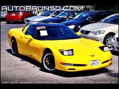 2000 Chevrolet Corvette for sale in San Diego, CA