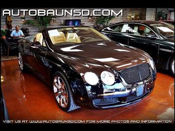 2007 Bentley Continental GTC for sale in San Diego, CA
