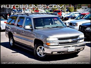 2001 Chevrolet Suburban for sale in San Diego, CA