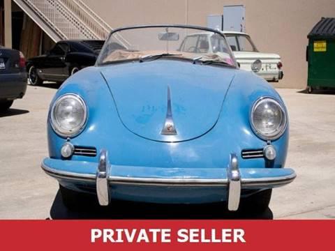 1961 Porsche 356 Speedster for sale in San Mateo, CA