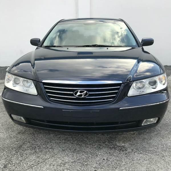 2007 Hyundai Azera SE 4dr Sedan In Fort Myers FL