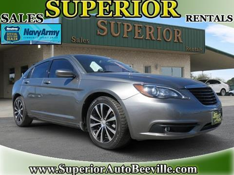 2013 Chrysler 200 for sale in Beeville, TX