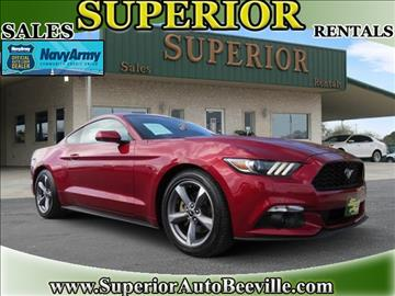 2016 Ford Mustang for sale in Beeville, TX
