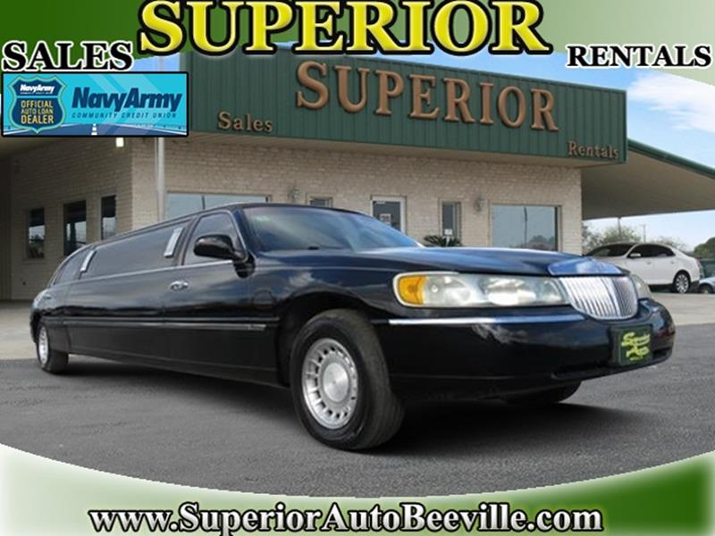 2000 Lincoln Town Car Executive 4dr Sedan W Limousine Builder