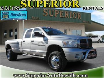 2006 Dodge Ram Pickup 3500 for sale in Beeville, TX
