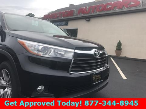 2015 Toyota Highlander for sale in Vernon, CT