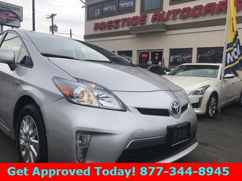 2014 Toyota Prius Plug-in Hybrid for sale in Vernon, CT