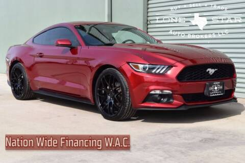 2017 Ford Mustang EcoBoost Premium for sale at Lone Star Auto Brokers, LLC in Arlington TX
