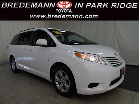 2015 Toyota Sienna for sale in Park Ridge IL