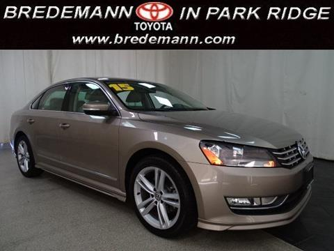 2015 Volkswagen Passat for sale in Park Ridge IL