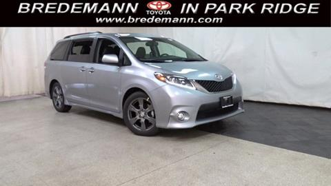 2017 Toyota Sienna for sale in Park Ridge IL