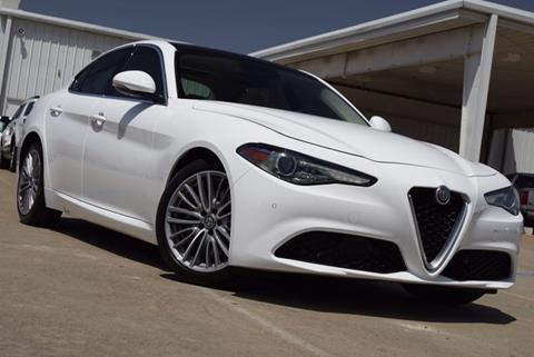 2018 Alfa Romeo Giulia for sale in Mckinney, TX
