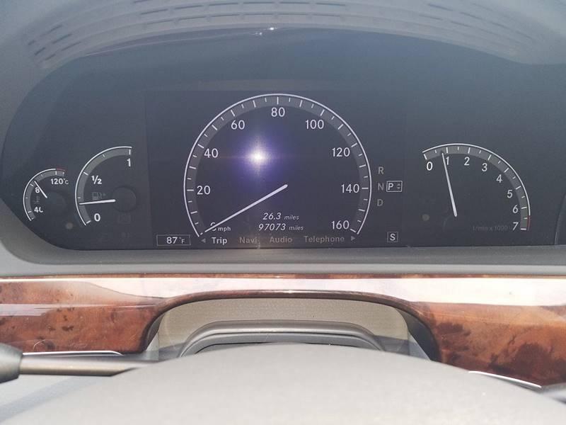 2007 Mercedes-Benz S-Class S 550 4dr Sedan - Harvest AL