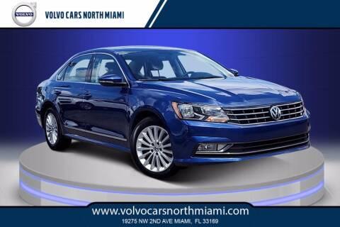 2016 Volkswagen Passat for sale at Volvo Cars North Miami in Miami FL