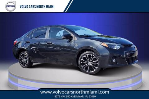 2014 Toyota Corolla for sale at Volvo Cars North Miami in Miami FL