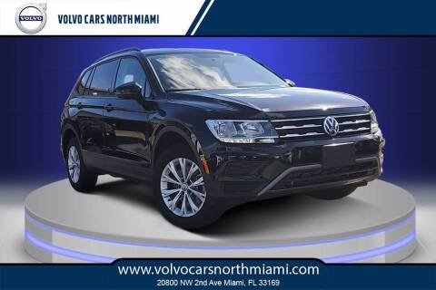 2020 Volkswagen Tiguan for sale at Volvo Cars North Miami in Miami FL