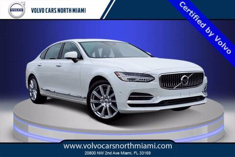 2018 Volvo S90 for sale at Volvo Cars North Miami in Miami FL