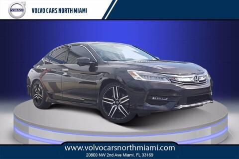 2017 Honda Accord for sale at Volvo Cars North Miami in Miami FL