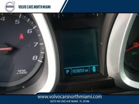 2013 Chevrolet Equinox for sale at Volvo Cars North Miami in Miami FL