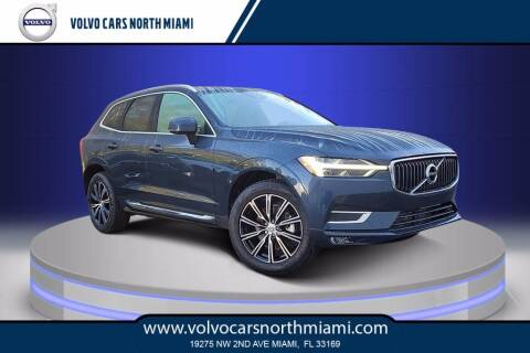 2021 Volvo XC60 for sale at Volvo Cars North Miami in Miami FL