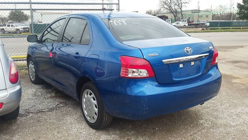 2009 Toyota Yaris S 4dr Sedan 4A - Fort Worth TX
