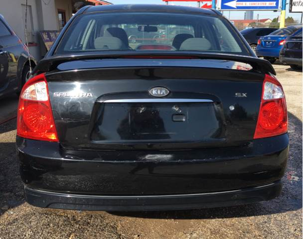 2006 Kia Spectra SX 4dr Sedan w/automatic - Fort Worth TX