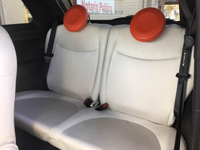 2013 FIAT 500e 2dr Hatchback - Fort Worth TX