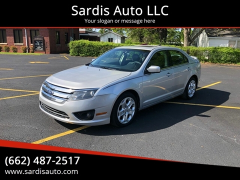 2010 Ford Fusion for sale in Sardis, MS